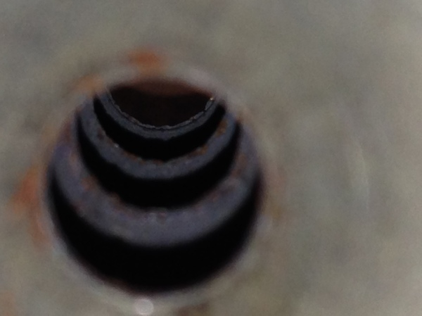 The visible tear and wear on the baffles inside the AseUtra NS