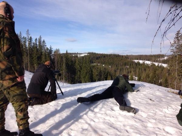 Seriöst långhållsskyte på multippla mål under NM i Norge
