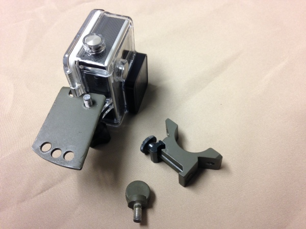 LRD - GoPro mount parts