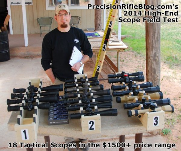 Long-Range Rifle Scope Reviews