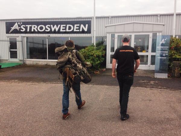 Besök hos George på AstroSweden