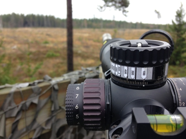 En enkel tabell på ratten gör det mycket enklare att vara bättre förberedd under jakt.