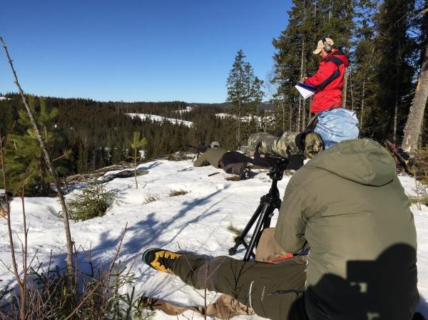 """Fredrik """"Tummen"""" levererar  träff med första skottet på 1000m!"""